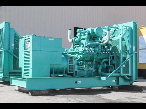 625 kW Cummins Natural Gas Generator Set Unit 87233