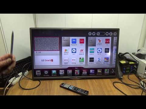 Телевизор LG 32LA621V Ремонт после ремонта