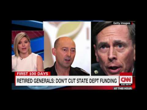 Over 120 Retired Generals, Admirals Speak Out in Support of State Department, USAID Budgets