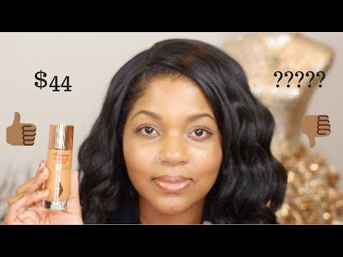 Charlotte Tilbury 'HOLLYWOOD FLAWLESS FILTER' Review and Wear Test | Dark Skin thumbnail