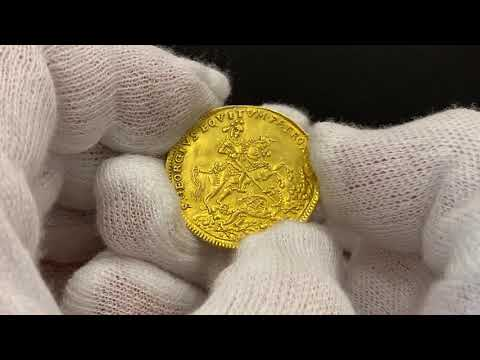Lot 2461 Austria Hungary 3 Ducats St  George's Gold Medal ND