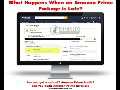AMAZON PRIME – LATE PACKAGE DELIVERY