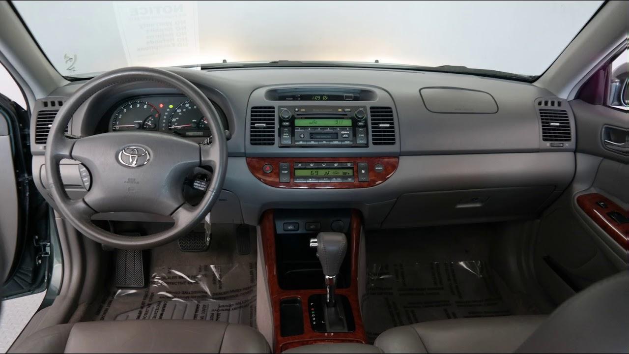 2004 Aspen Green Pearl Toyota Camry 4d Sedan N4884a Youtube