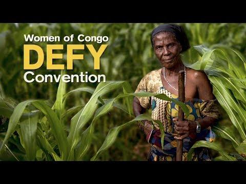 Women of Congo Defy Convention