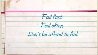 successful people fail