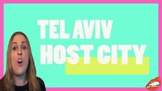 TEL AVIV TO HOST EUROVISION 2019!