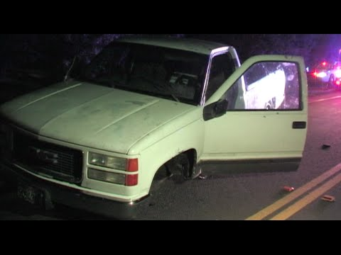Wild Police Chase Has Deputies Chasing Truck With 3 Wheels - News Story
