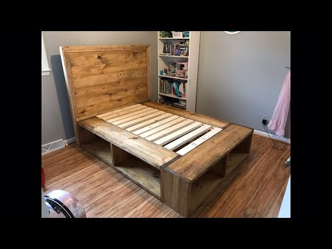 Farmhouse Storage Bed | Full Size