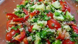 Летний овощной салат с КИНОА // ПРОСТО ВКУСНО МОЖНО СКОЛЬКО УГОДНО ДЛЯ СТРОЙНОЙ ТАЛИИ