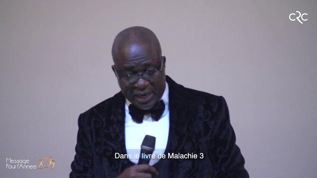 Message pour l'année 2019 - Pst. David Goma