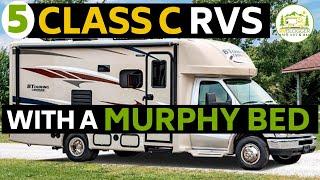 5 Class C RVs Under 25 Feet with a Murphy Bed