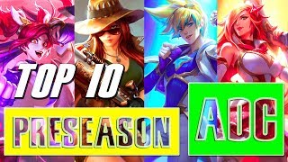 Top 10 Best ADC Preseasons Plays S8 - LoL Epic ADC Montage - League of Legends