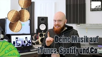 Deine Musik auf iTunes, Spotify & Co. 🎧