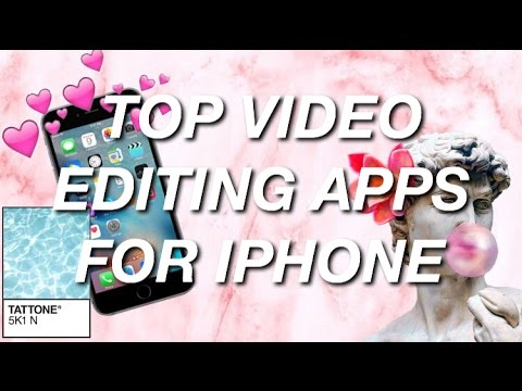 TOP APPS TO EDIT VINE EDITS OR YOUTUBE VIDEOS | EDIT W/ AN IPHONE