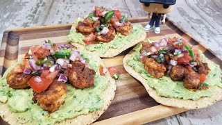 How to Make Eąsy Shrimp Tostadas