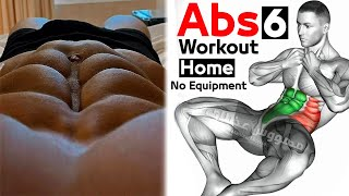 abs workout At Home for beginners