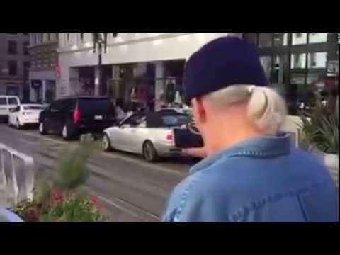 Pedophile caught filming young girls is confronted by alert citizens, San Francisco