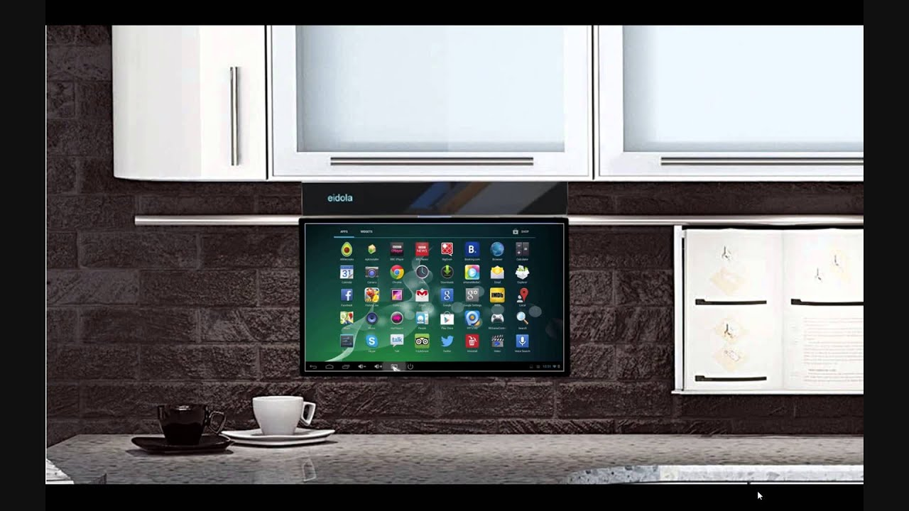 Interior Under Kitchen Cabinet Tv eidola under cabinet 17 smart tv youtube