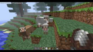 Minecraft Pre-Release 3 Baby Animals! (Baby Pig, Baby Cow, Baby Sheep)