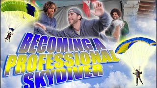 My BIGGEST Goal of 2018: Becoming a Professional SKYDIVER Ep.1