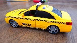 City Service машинка Такси Обзор игрушек машинок Видео для детей про машинки игрушки