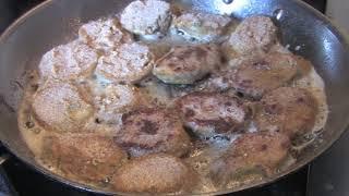 Eggplant Parmesan Italian dinner recipe. | Italian recipe