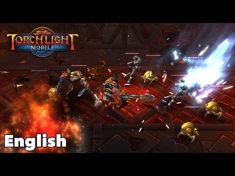 Torchlight: The Legend Continues  Torchlight Mobile  iOS  Android  Gameplay ENGLISH