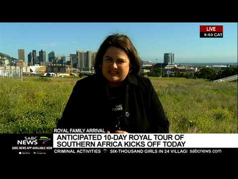 UPDATE: British royal tour of Southern Africa