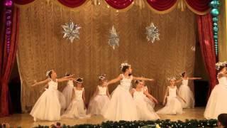 Ансамбль Росток Киев - танец Снежинок.