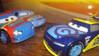 Disney Pixar Cars 3 Dan Carcia (Next-Gen Gask-its #80) Amazon 10-pack Exclusive Review