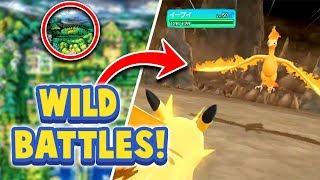 WILD BATTLES RETURN + NEW SECRETS! - Pokémon Let's Go Pikachu & Eevee