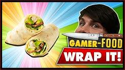 ► FETTE GAMER: Wraps selber machen - Idiotensicher