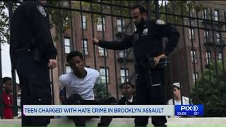 Teen charged with hate crime in Brooklyn assault