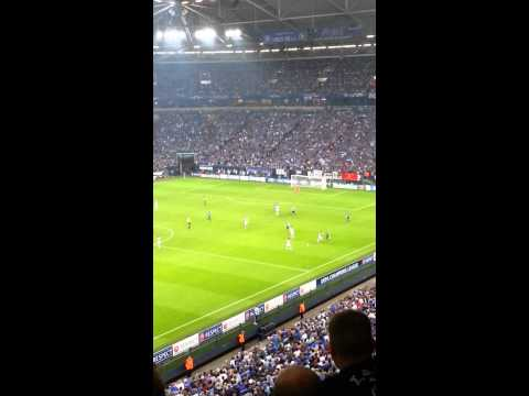 Schalke Vs Paok 21.08.13 Championsleauge Goal