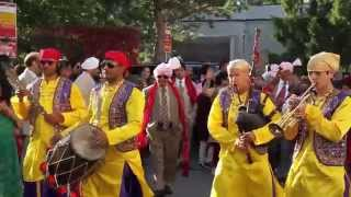 Kings of Singh Punjabi Wedding Band - Bagpipes, Dhol, Trumpet, Chimta & Snare Drum