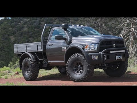AEV Prospector XL Dodge Ram 4x4 diesel - YouTube