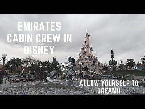 EMIRATES CABIN CREW | IN DISNEYLAND PARIS
