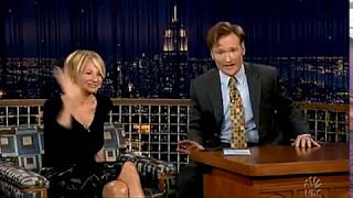 Conan O'Brien 'Ellen Barkin 4/27/05