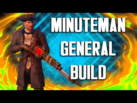 Fallout 4 Builds  The General  Minuteman Build