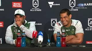 NRL Press Conference: Maori All Stars | NRL on Nine