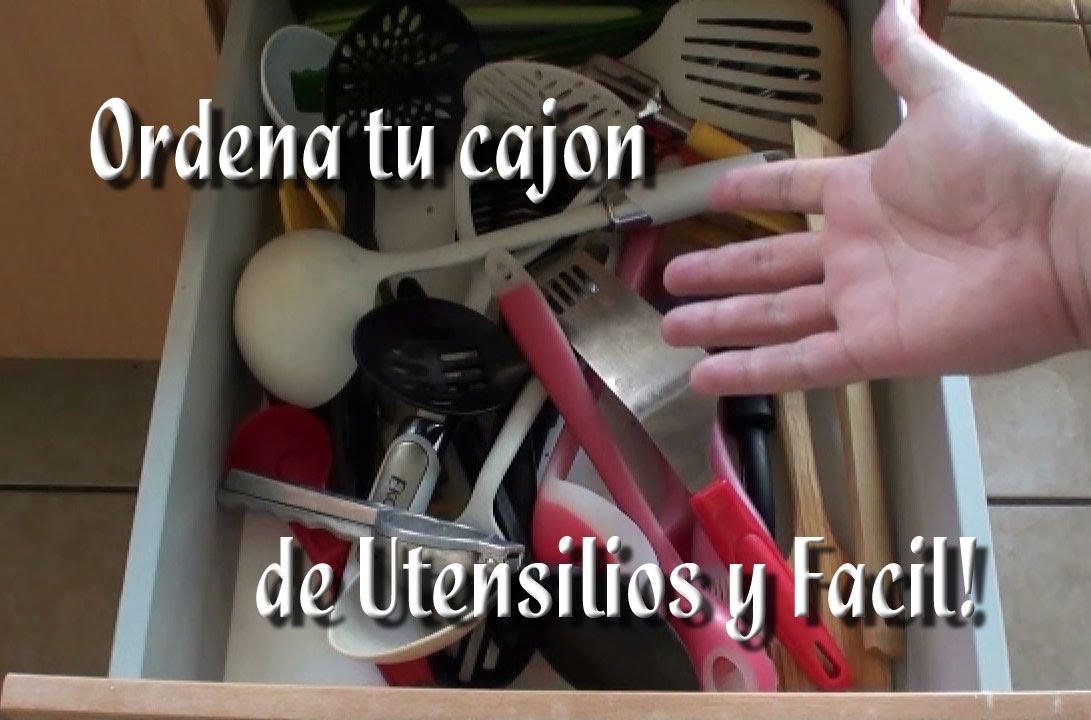 Como Ordenar el cajón de utensilios Fácil! - YouTube