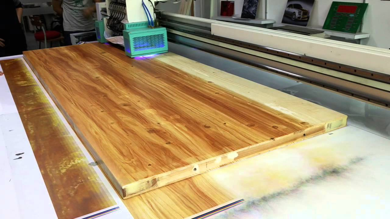 Wood Printer UV Flatbed Printer Print On Wood Without