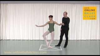 Fondu Ballet Dictionary Online Ballet Class