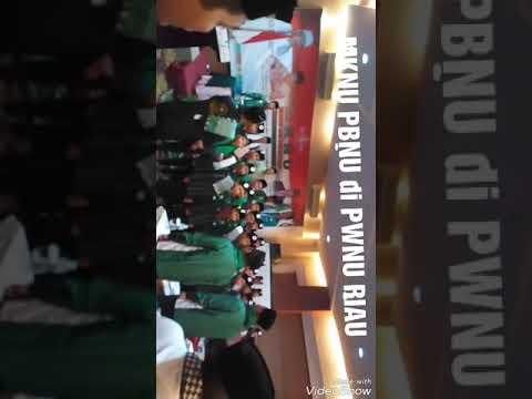 Lagu Resmi Negara Indonesia ✓ Indonesia Raya By MKNU PBNU di PWNU RIAU