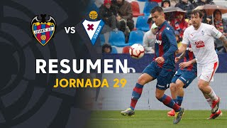 Resumen de Levante UD vs SD Eibar (2-2)