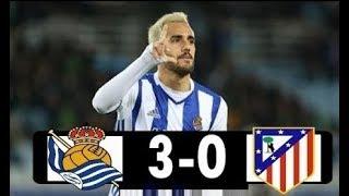 Download Video Real Sociedad Vs Atlético Madrid 3 - 0 La Liga 19/04/2018 MP3 3GP MP4
