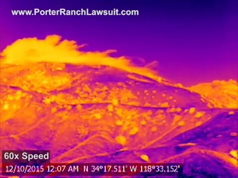 Video #2- New Porter Ranch Gas Leak Timelapse (12/10/15)