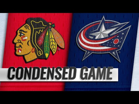 10/20/18 Condensed Game: Blackhawks @ Blue Jackets