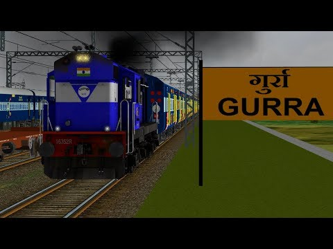 51671/Itarsi - Satna Passenger (UnReserved) IR In MSTS Open Rail