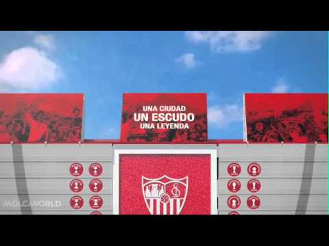 Presentación exteriores estadio Ramón Sánchez Pizjuán